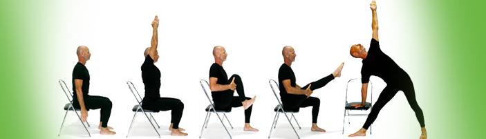 El yoga de silla regina vel squez regina vel squez for Sillas plegables para yoga